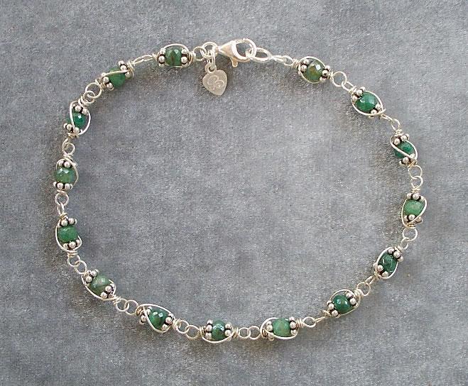 Gemstone Bracelets page one